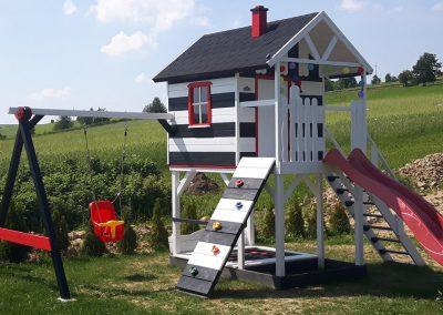 Drewniany domek dla dzieci - Bochenek Group kup