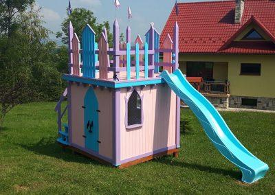 Drewniane domki ogrodowe dla dzieci - Bochenek Group